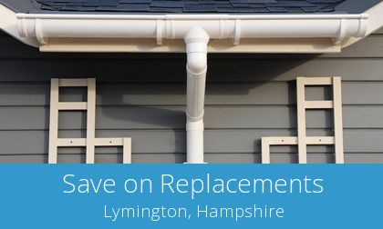local Lymington gutter replacement companies