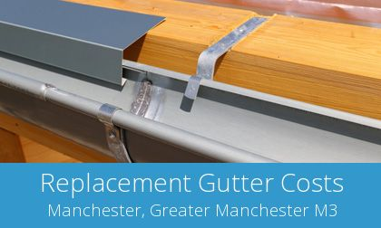 replacement Manchester gutters