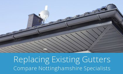 local Mansfield Woodhouse gutter replacement experts