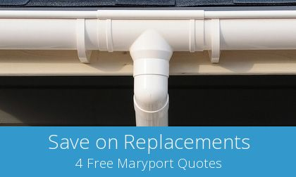Maryport replacement gutter costs