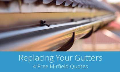 costs for gutter replacement in Mirfield