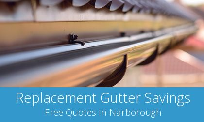 gutter replacement in Narborough, Leicestershire