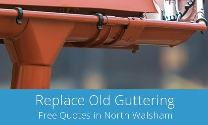 North Walsham gutter replacement costs