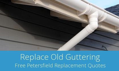 Petersfield gutter replacement costs