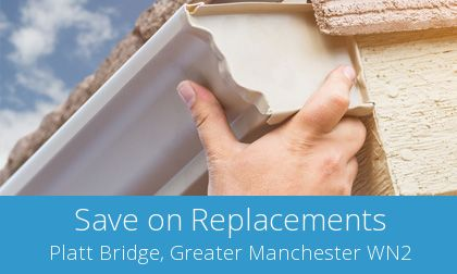 quotes for gutter replacement in Platt Bridge