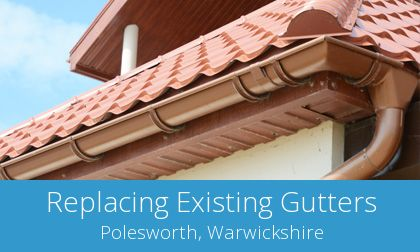 Polesworth replacement gutter costs
