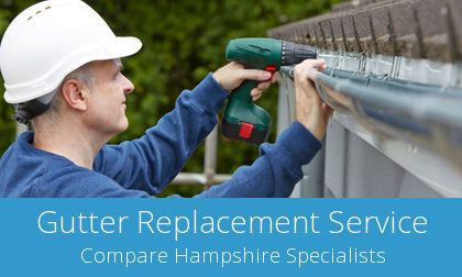 replacing Romsey gutters