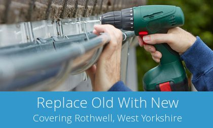 Rothwell gutter replacement costs