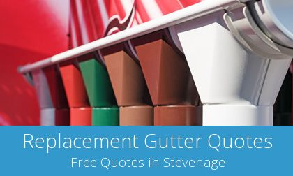 Stevenage gutter replacement costs