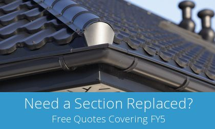 save on Thornton gutter replacement