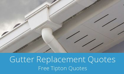 gutter replacement in Tipton