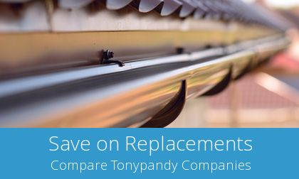 replacing Tonypandy gutters