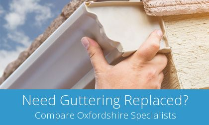 Wantage gutter replacement