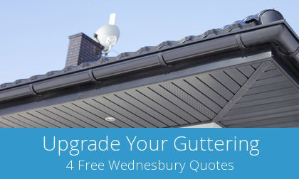 quotes for gutter replacement in Wednesbury