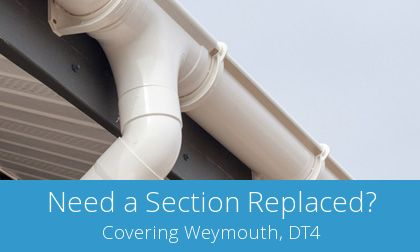 compare Weymouth gutter replacement experts