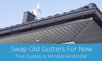 replacement Wimborne Minster gutters