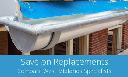 gutter replacement in Wolverhampton