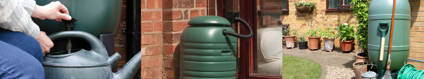 rain water butts and barrels
